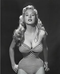 Betty Brosmer -another pinup queen.   Wish I had curves like hers- in all the right places