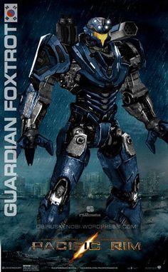 Jaegar Guardian Foxtrot