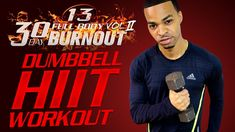 45 Min. Total Body Light Dumbbell HIIT Workout | Day 13 - 30 Day Full Body Burnout Vol. 2  This 45 min. fast-paced light dumbbell workout combines strength and HIIT cardio exercises for optimum fat loss and maximum results in minimum time. With over 40+ HIIT dumbbell exercises we're going to really build lean muscle by working every muscle in your body and banging out max reps . Get fit and strong and have lots of fun with this light dumbbell HIIT workout.