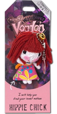 Amazon.com: Watchover Voodoo Hippie Chick Novelty: Toys & Games