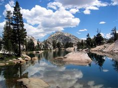 Emigrant Lake in the Stanislaus National Forest