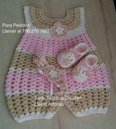 41 Best Ideas for crochet baby girl items tutorials Crochet Baby Dress Pattern, Baby Girl Crochet, Crochet Baby Clothes, Newborn Crochet, Crochet For Kids, Romper Pattern, Baby Girl Patterns, Baby Knitting Patterns, Crochet Baby Dresses
