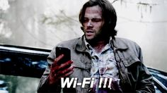 He shouldnt be surprised, he gets his wifif from hell so he always has wifi