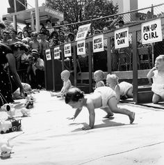 Baby Racing Used To Be A Real Life Actual Sport During The Mid-20 Century, And It Was Amazing!