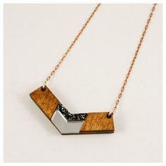 wood pendant
