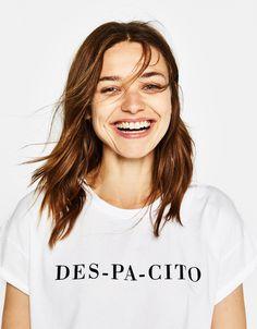 Camisetas - ROPA - MUJER - Bershka Ecuador