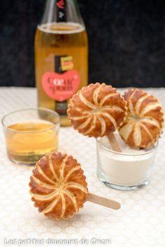 Les petites douceurs de Cricri - Recette Galettes des rois individuelles à la crème d'amandes, banane et caramel