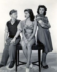 Mickey Rooney, Esther Williams, Ann Rutherford - Andy Hardy's Double Life