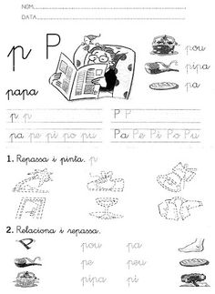 Fitxes de lletres Catalan Language, Inspirational Thoughts, Conte, Special Education, Classroom, Album, School, Google, Ideas
