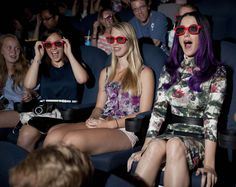 Katy Perry enjoying the #KP3D Toronto screening with her fans ♥
