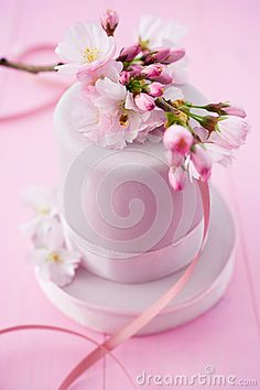 Mini Cherry Blossom Cake