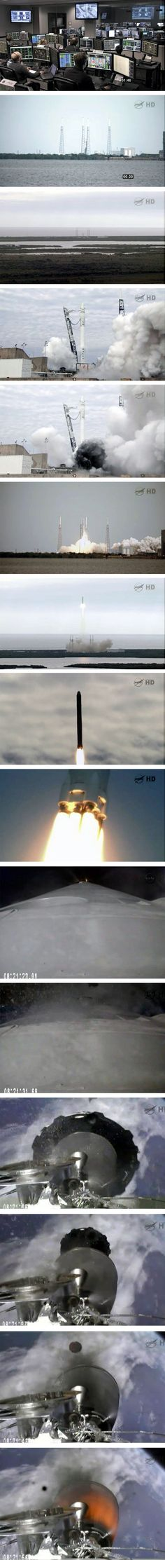 The SpaceX Rocket Launch