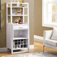 White-Ladder-Wine-Cabinet-Bar-Pub-Furniture-Decor-Bar-Home-Living-Dining-Kitchen