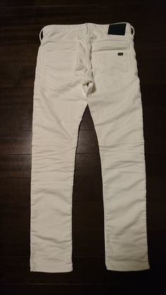 Jimmy Taverniti Blackie Denit/Mens,  28,000JPY+tax, No.: 81271040, Color: Wow(White), Size30 (26 Jun 2017)
