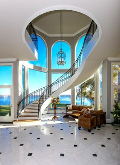 Absolutely breathtaking staircase!