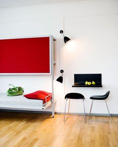 Small Space Solutions from a Danish Hostel