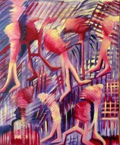 "Saatchi Art Artist Concha Flores Vay; Painting, ""INCOGNITO"" #art"