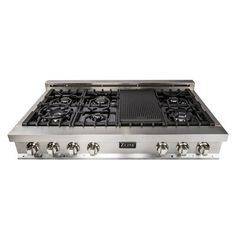 Zline Kitchen And Bath 48 Gas Cooktop With 7 Burners In 2020 Gas Stove Top Kitchen Stove Kitchen Bath