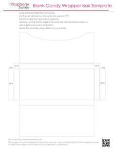 Free Printable Chocolate Candy Bar Wrapper Box Template | Craft ...
