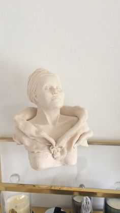 Sculpture argile Statue, Art, Sculpey Clay, Art Background, Kunst, Sculpture, Sculptures, Art Education