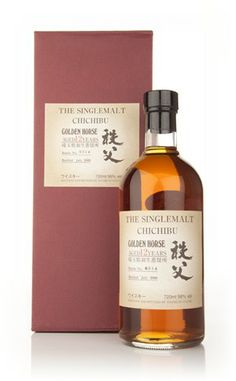 Chichibu 12 Year Old Golden Horse - Master of Malt