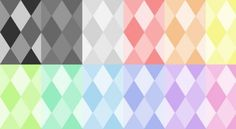 13 Colorful Rhombus Tileable Patterns Set - http://www.welovesolo.com/13-colorful-rhombus-tileable-patterns-set/