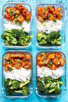 Honey Sriracha Chicken Meal Prep Bowls with broccoli and jasmine rice. Honey Sriracha Chicken Meal Prep Bowls with broccoli and jasmine rice. Healthy Drinks, Healthy Snacks, Eating Healthy, Nutrition Drinks, Eating Raw, Healthy Fruits, Healthy Smoothies, Healthy Cooking, Healthy Eating Challenge