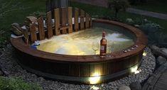 Garten Spa oder Jacuzzi mit holzbheizt ? - ISBJØRN Hot Tubs