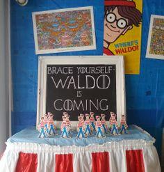 Brace yourself- Waldo is coming.  The Book Nook in Brenham, TX  #findwaldolocal