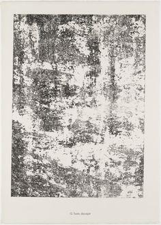 Jean Dubuffet Decrepid Text (Texte décrépit) from the portfolio Textures from Phenomena (Les Phénomènes) 1959 - Google Search