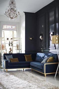 Gplan 59 series corner sofa in fabric