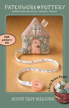 House Tape Measure - PDF Pattern #4