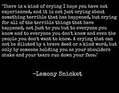 quotes from lemony snicket a series of unfortunate events - Saferbrowser Yahoo Image Search Results Poem Quotes, Sad Quotes, Great Quotes, Quotes To Live By, Life Quotes, Inspirational Quotes, Daily Quotes, A Series Of Unfortunate Events Quotes, Les Orphelins Baudelaire