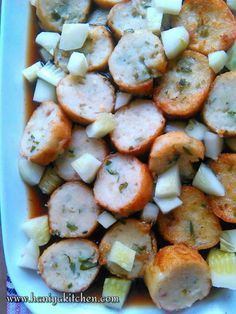 Asian Recipes, New Recipes, Cooking Recipes, Malay Food, Indonesian Cuisine, Indonesian Recipes, Savory Snacks, Fish Dishes, Clean Eating Recipes