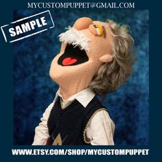 "Custom Professional puppet "" muppet type "" Portrait Puppet From Your Design , photo or Ours! Professional Puppets, Types Of Puppets, Custom Puppets, Puppet Making, Thing 1, Scene Photo, Media Design, Are You The One, Lana"