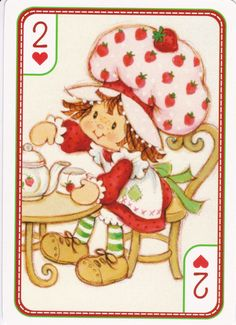 SSC Playing Cards - Best Deck - 40 Strawberry Shortcake Pictures, Strawberry Shortcake Characters, Vintage Strawberry Shortcake, Huckleberry Pie, My Melody Wallpaper, Vintage My Little Pony, Old School Toys, Cool Deck, Rainbow Brite