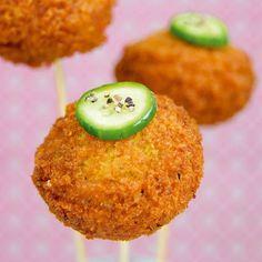 Recette de pop cakes - boules de poulet de Stéphanie de Turckheim issue du livre Pop Cakes chez Tana Éditions.