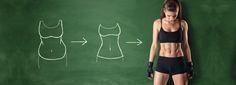 Schnell abnehmen: viele Kilos in kurzer Zeit verlieren ❣ Das geht, auf gesunde Weise, ohne Jojo-Effekt, mit einfacher, effektiver Diät und gezieltem Training.