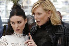 "Cannes 2015 - ""Carol"" - Cate Blanchett et Rooney Mara, les ..."