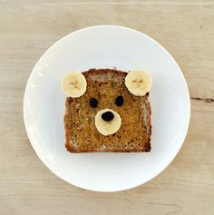 Bear toast. I dont care how old you are, you would like this presented to you at the breakfast table. :)