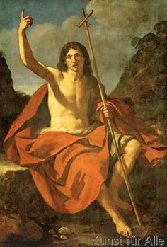 Giovanni Francesco Barbieri Guercino - Johannes der Täufer