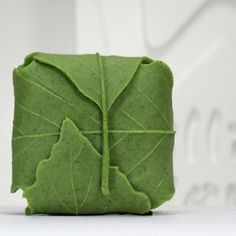 Leaf soap mold.