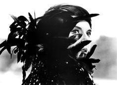 """Mademoiselle Delphine Seyrig à """"L'Année dernière à Marienbad"""" (1961). LOVE."""