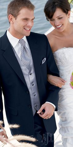 navy blue tuxedos for weddings | Midnight Blue Suit