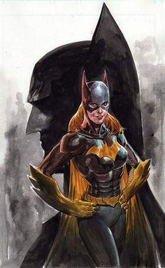 Batgirl looks really. buff, lol, and wo-manly. Batgirl and Batman by Ardian Syaf * Batwoman, Batman And Batgirl, I Am Batman, Marvel Dc Comics, Superman, Batman Superhero, Gotham Batman, Batman Robin, Batman Kunst