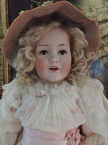 "Kestner 241 Character 18"" RARE Antique German Bisque Doll Antique Costume from ~ ASHLEY'S DOLLS ~ found @ Doll Shops United http://www.dollshopsunited.com/stores/ashleysdolls/items/1297330/Kestner-241-Character-18-RARE-Antique-German-Bisque #dollshopsunited"