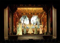 Multum in Parvo Papiertheater Mering: Giuseppe Verdi 'Aida', zweiter Akt, erstes Tableau..