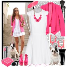 French bulldog :), created by fashion-mariquita-camy on Polyvore