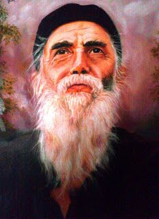 """""""If you give all your love to God, you'll receive all of His in return, to pass on to other people."""" -Saint Paisios the Athonite Ant Crafts, Roman Catholic, Alexandria, Occult, Mystic, Saints, Prayers, Drawings, Painting"""