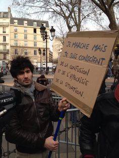 """François Picard on Twitter: """"""""I'm marching but I'm conscious of the confusion and hypocrisy of the situation."""""""